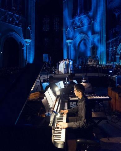 Performing with Libera at Ely Cathedral